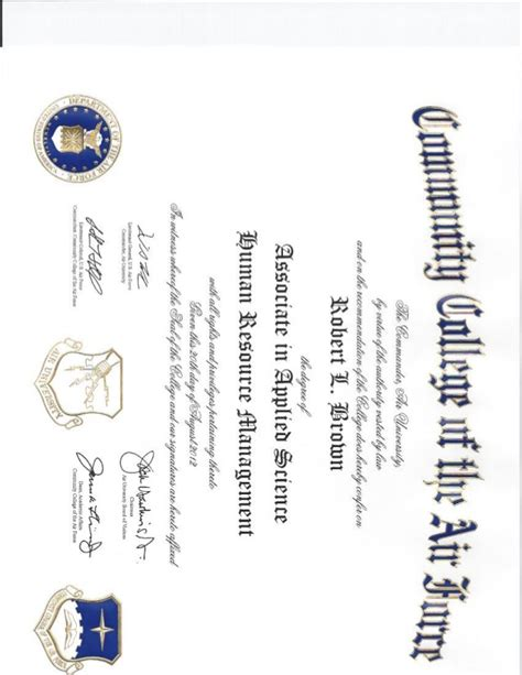 human resources degree ccaf associates degree human resource mgt