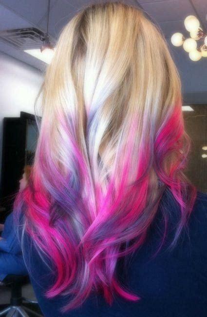 Multi Color Hairstyles by Multi Color Hairstyle Hair Make Up