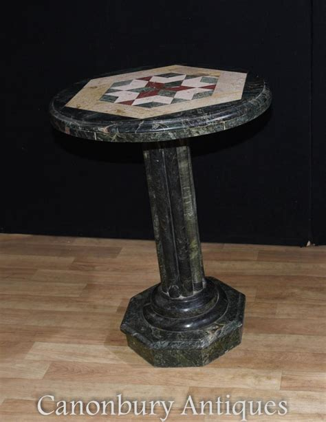 italian granite round table top ebay italian tuscan marble round side table inlay cocktail