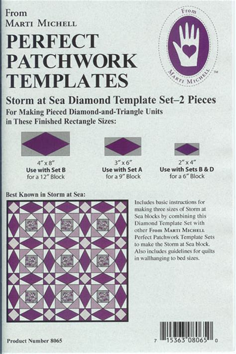 Storm At Sea Diamond Template Set At Sea Template