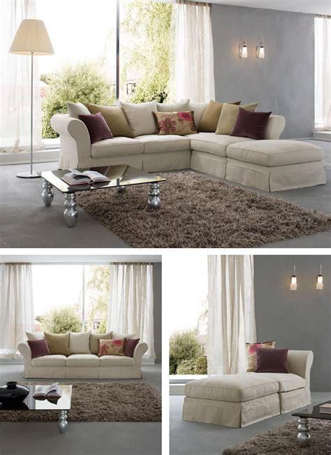 sofa mit holzgestell feder und gummikissen idfdesign
