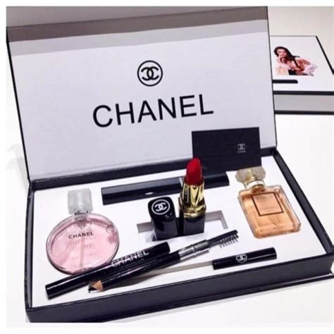 1 Set Chanel Import chanel 5 in 1 limited edition gift set chance chanel 15ml perfume coco madmosile 15ml perfume