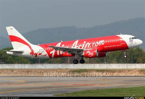 airasia thailand hs abv airasia thailand airbus a320 at chiang mai