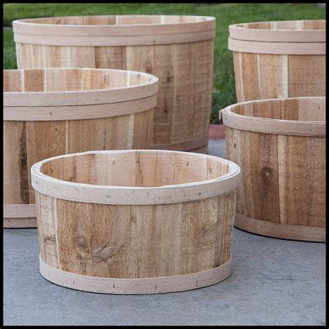 bathtub planters the buckland cedar tub planter 13in dia