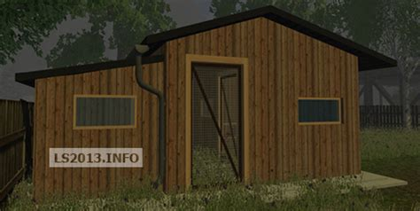 Chicken Ls by Chicken Coop Placeable V 2 0 Farming Simulator 2013