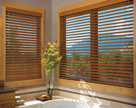 Wood Window Coverings Faux Wood Blinds