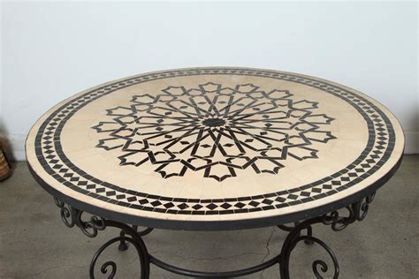 moroccan tile outdoor table moroccan outdoor mosaic tile dining table on arts