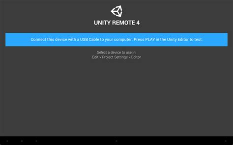 tutorial unity remote 4 unity remote 4 android apps on google play