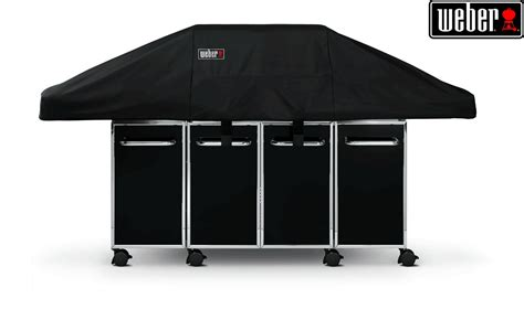 weber bbq cover genesis weber genesis grill centre cover 163 53 99 at garden4less uk