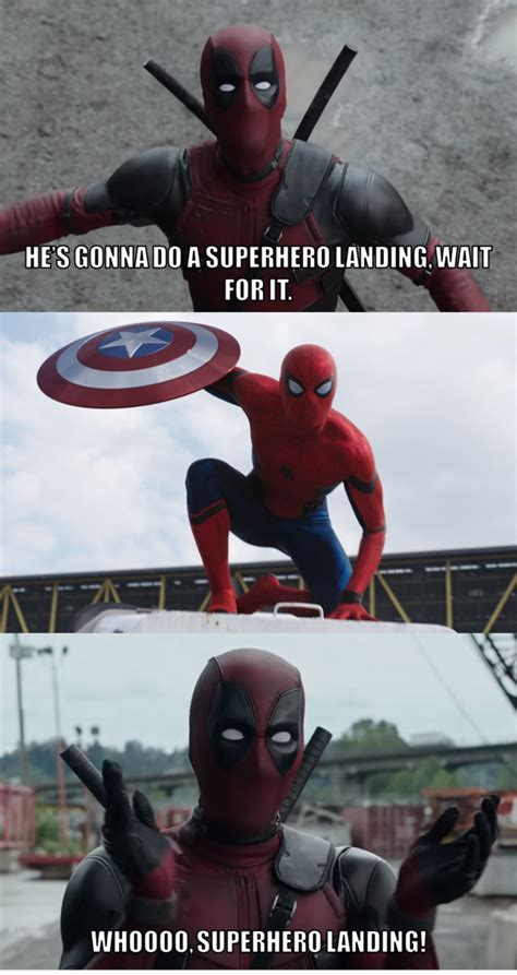 Memes Landing - superhero landing by onyxcarmine on deviantart