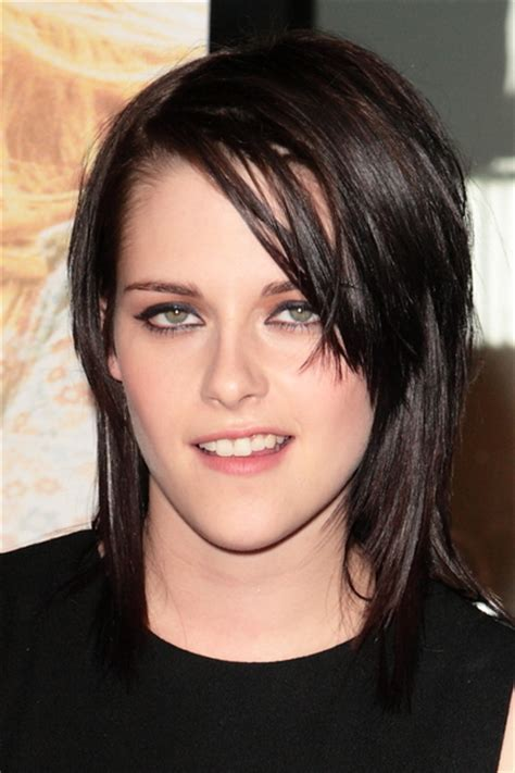 bob haircuts hairstyles for people with cowlicks kristen stewart short fine hair cut