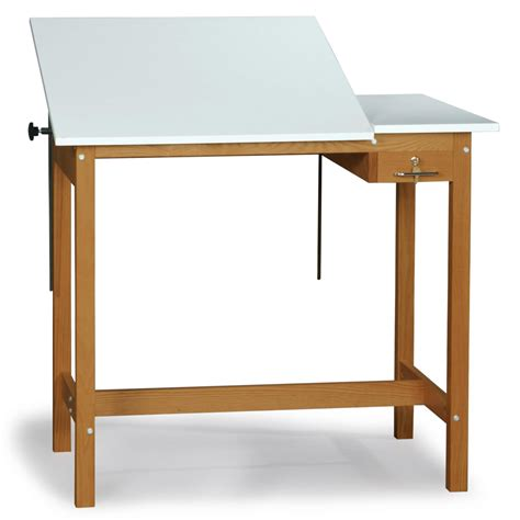 Best Drafting Table Smi Pacific Split Top Drafting Table With Storage Drafting Drawing Tables At Hayneedle