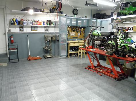 Garage Shop Garage Shop Tour Motorcycle How To And Repair