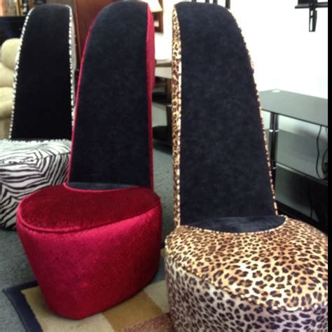 high heel chair need spaces