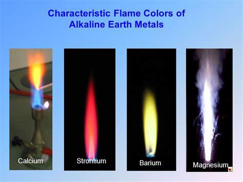color of magnesium alkaline earth metals beryllium magnesium strontium radium