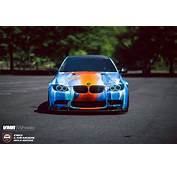 A BMW M3 Gets Crazy Wrap And Tune