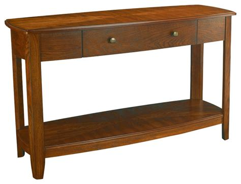 Traditional Sofa Table by Hammary Primo Sofa Table Traditional Console Tables