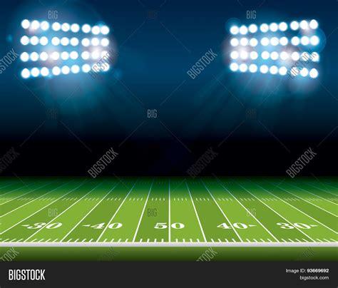 Field Lights by American Football Field Stadium Vector Photo Bigstock