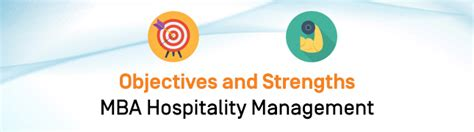 Career Opportunities Mba Hospitality Management by Objectives And Strengths Of The Mba Hospitality Management