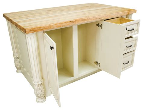 Kitchen Island Without Top by Hardware Resources Isl05 Kitchen Island Without Top