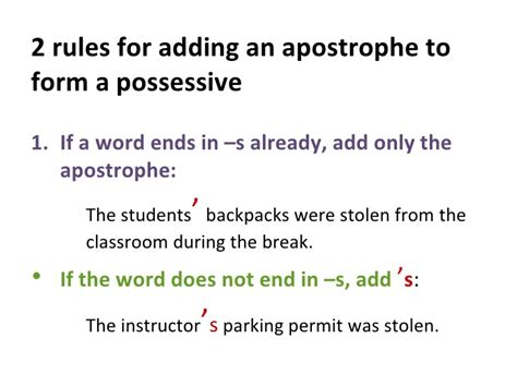 do you use an apostrophe to show possession do you use an apostrophe to show possession apostrophes