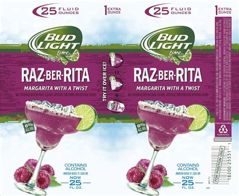 bud light rita new flavors anheuser busch archives beer street journal