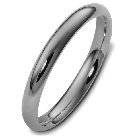 comfort fit titanium wedding bands v123791ti titanium plain 3mm comfort fit wedding band