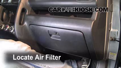 automotive air conditioning repair 2004 honda accord interior lighting cabin filter replacement honda cr v 2002 2006 2006 honda cr v se 2 4l 4 cyl
