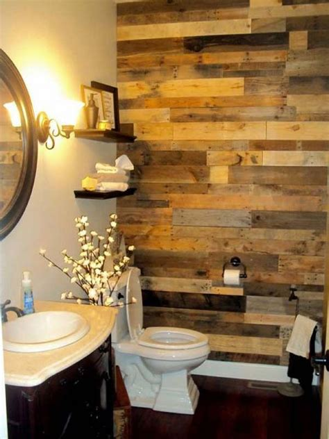 bathroom accent wall ideas best 25 pallet bathroom ideas on pinterest wood walls