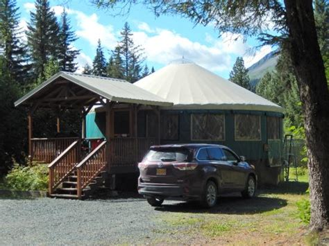 2 Bedroom Yurt Picture Of Sourdough Sue S Yurts Seward Tripadvisor
