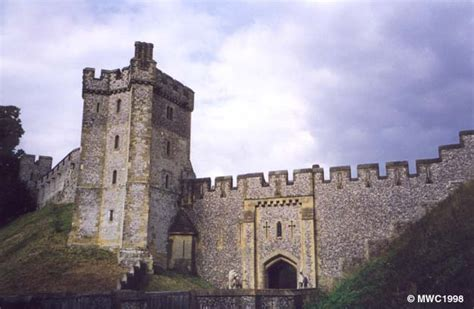 curtain wall of a castle arundel castle