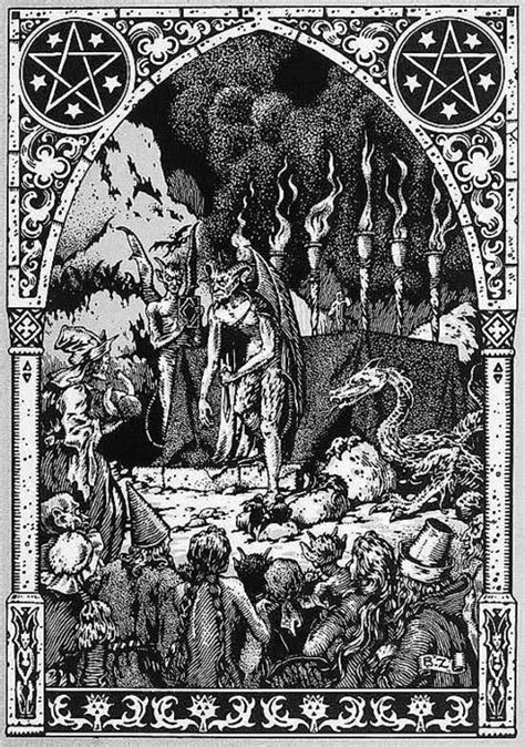 picture book of devils demons and witchcraft hell by bernard zuber demons