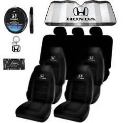 honda logo seat covers sunshade steering license plate