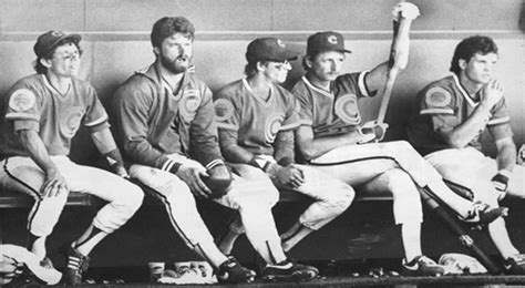 cubs bench mlb 1984 cubs still special to chicago 30 years later