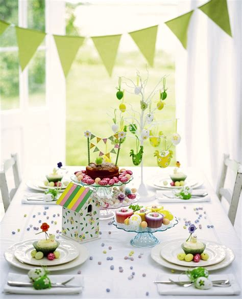 Easter Table Decorations Pinterest Easter Table Settings