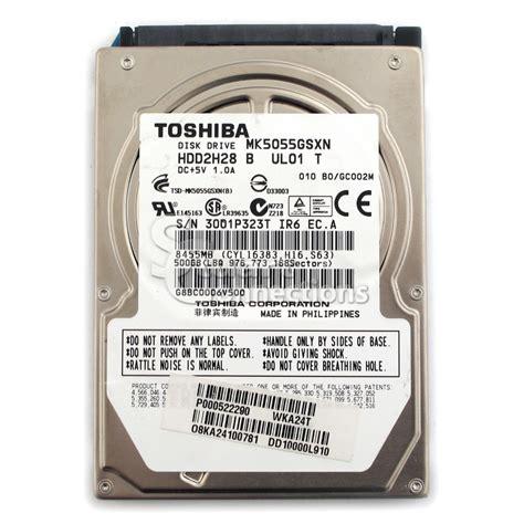 Hardisk Laptop Toshiba 500gb Stuart Connections Inc