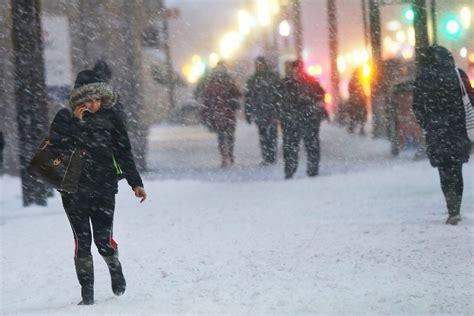 2015 new york blizzard heavy snows delay official un holocaust commemoration