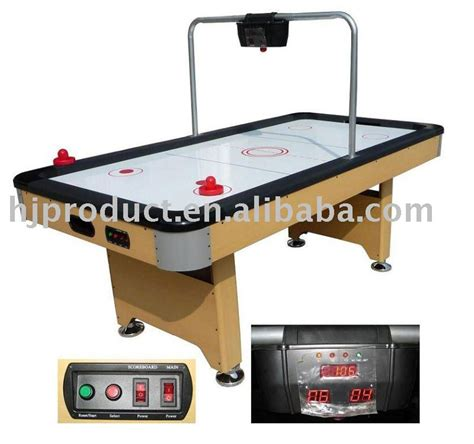 electric air hockey table high quality household digital scoring electric air