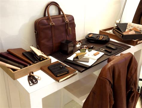 Mens Desk Accessories Preview Coach S Fall 2013 Vee Travels