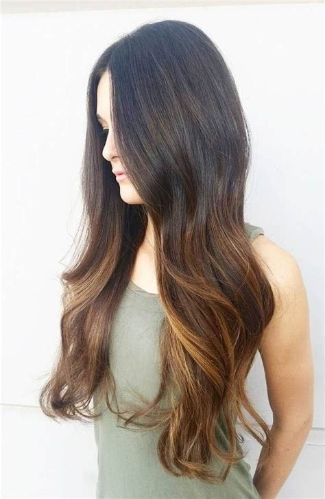 how long take for balayage balayage hairstyle ideas for long dark hair