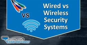 wired vs wireless security systems