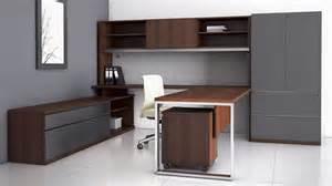 modern u shaped desk modern at two u shaped desk with overhead storage