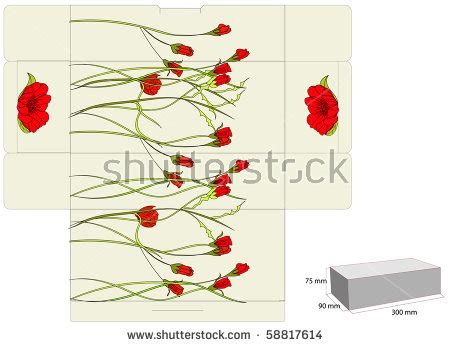 Dying Flowers Clipart 33 Flower Box Template