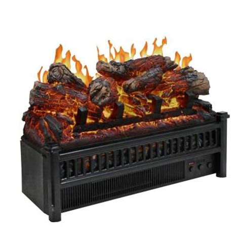 electric log set with heater lh 24 the home depot