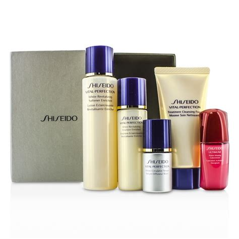 Shiseido Vital Perfection shiseido vital perfection set cleansing foam 50ml