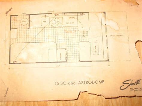 shasta rv floor plans shasta floor plan vintage cers by brand pinterest