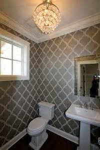 wallpapered bathrooms ideas powder room wallpaper ideas buddyberries com