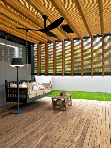 wooden terrace design  inspirational ideas interior