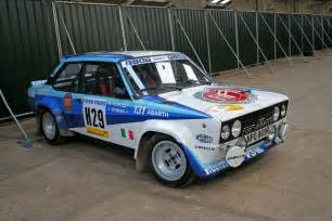 Fiat 131 Abarth Fiat 131 Abarth 4 1976 Racing Cars