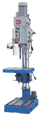 Geared Drill Press With 1 1 4 Quot Capacity
